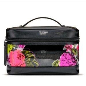 Victoria's Secret Bags - Victoria's Secret Wild Flower Weekender Train Case